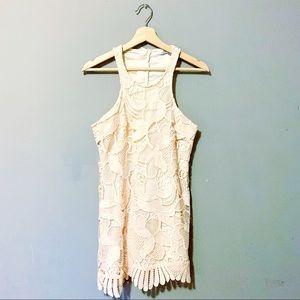 Lovers + Friends   Caspian Lace Shift Dress XS